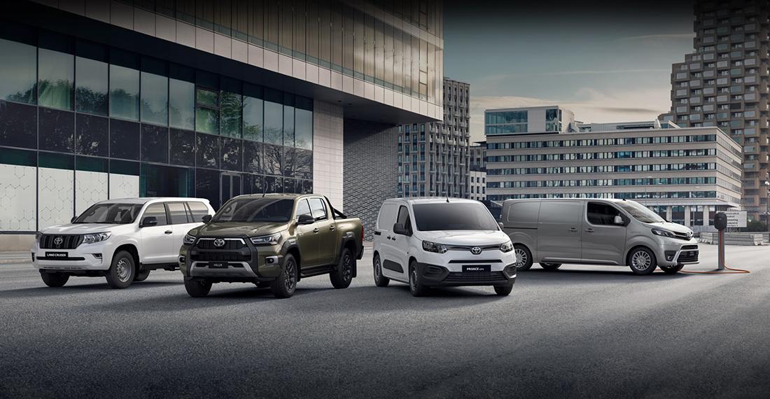 Die Nutzfahrzeuge von Toyota